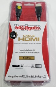 Cable HDMI HDTV 3mts