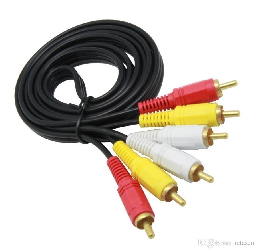 Cable 3 RCA a 3 RCA 3 mts